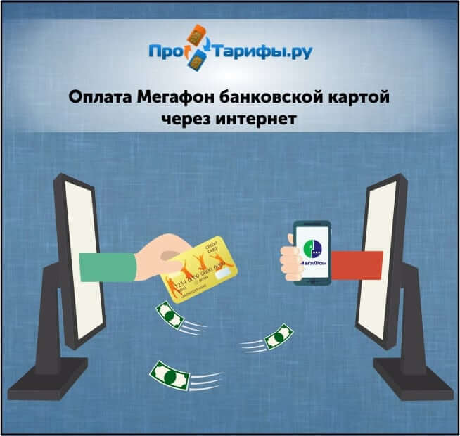пополнить мегафон с банковской карты без комиссии на сайте мегафона