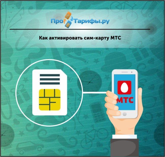 Как активировать новую сим-карту МТС