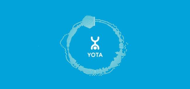 Официальный сайт компании Yota