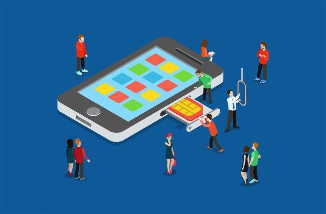 Переоформление SIM-карты в присутствии владельца