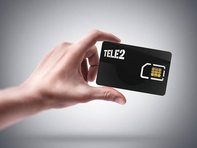 Регистрация новой SIM-карточки Tele2