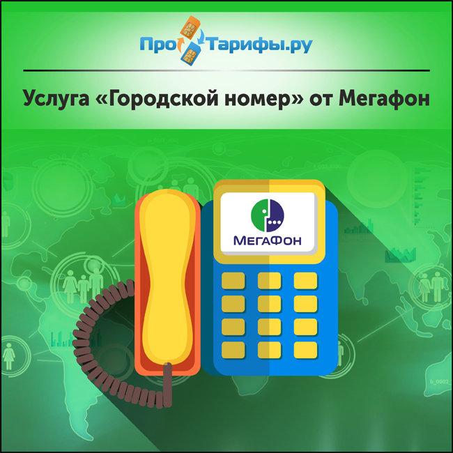 Обзор услуги «Городской номер» от Мегафон