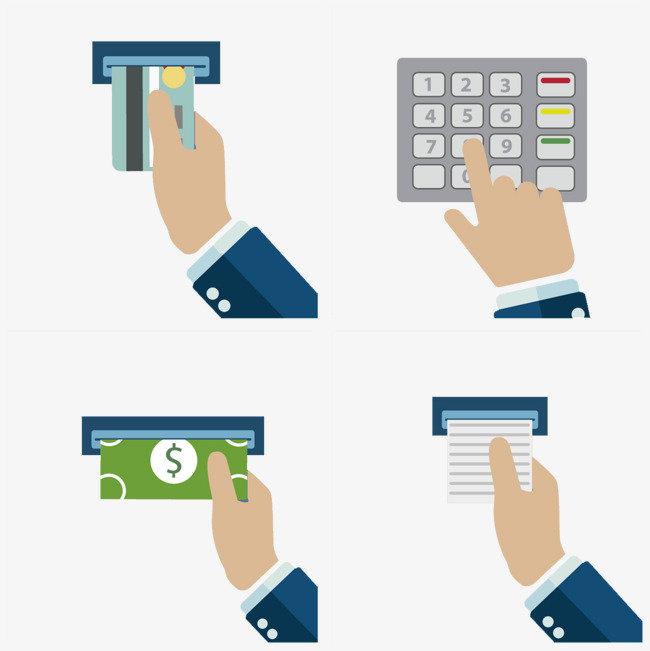 Получение наличных в банкомате