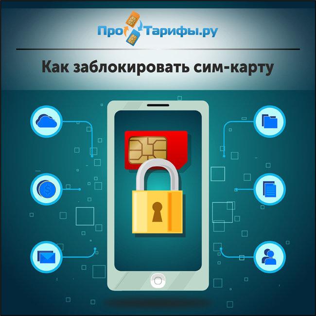 Как заблокировать СИМ-карту