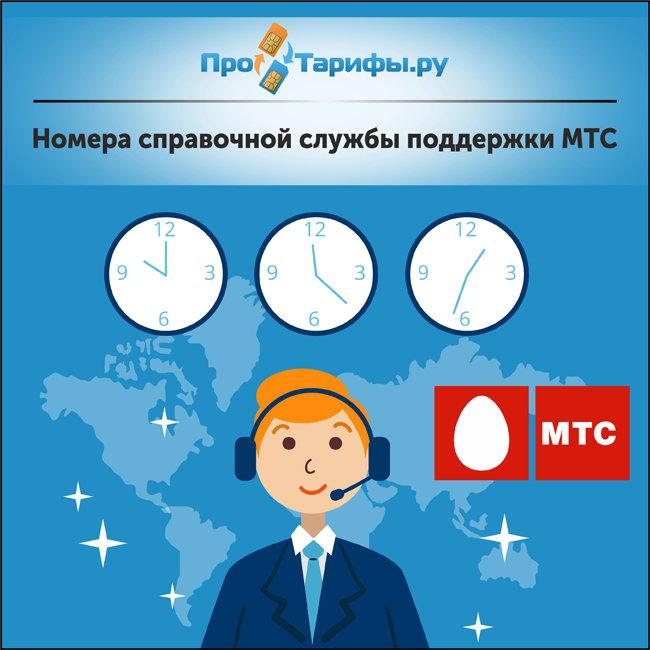 Номера справочной службы поддержки МТС