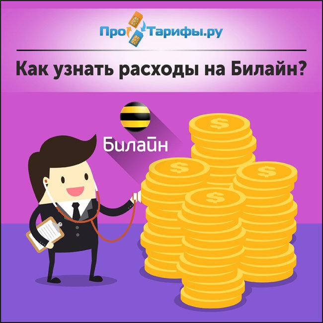 как узнать расходы на билайн