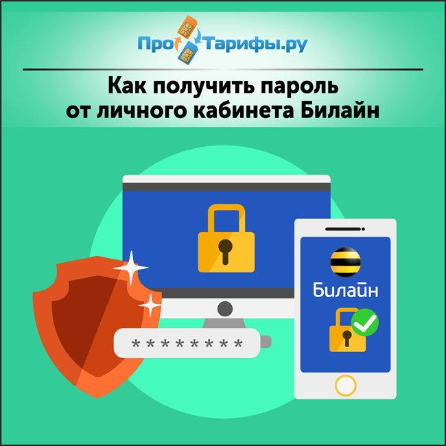 пароль от личного кабинета Билайн