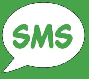 «Последние 5 SMS-сообщений»