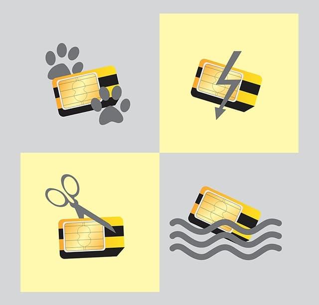 Способы замены SIM-карты